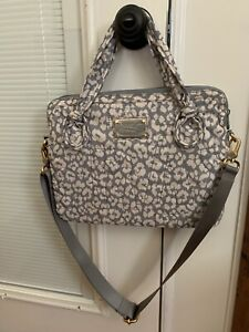 New With Tag Marc By Marc Jacobs Laptop Bag w/ Shoulder Strap - Gray