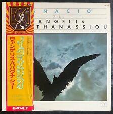 Vangelis, Ignacio, Original Japon, insert, OBI,Original  1979,Prog
