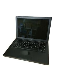 Apple MacBook A1181 2.16Ghz Intel 160GB HDD, 1GB Ram, Schwarz, funktionstüchtig