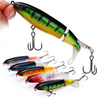 Whopper Plopper Topwater Floating Fishing Lures New Tail Surface Crankbaits
