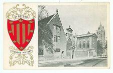 England, St. Peter's, Heraldic A Coat Of Arms (pre20embossed(unposted(H eraldic1)