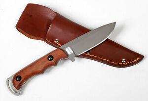 Gerber Freeman Hunter Fixed Blade Knife with leather sheath
