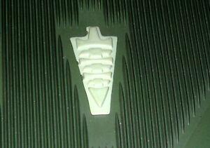NOS PAIR 1960-1964? GREEN Corvair Front Accessory Contour Floor Mats
