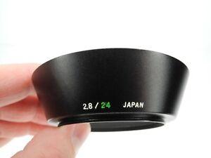 Olympus 49mm Screw In Metal Camera Lens Hood For OM Zuiko 24mm f/2.8