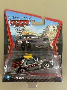 DISNEY PIXAR CARS 2 KABUTO New In Package 2011