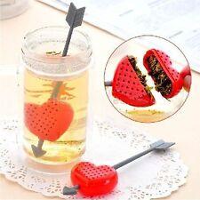 Cupid Arrow Love Heart Tea Herb Leaf Filter Infuser Strainer Teaspoon valentine