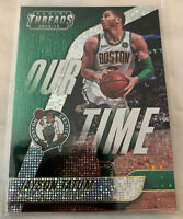 "2018/19 Panini Threads JAYSON TATUM DAZZLE ""OUR TIME"" Parallel Insert Card #2"