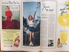 Nov-1952 This Week San Francisco Chronicle Mag(JOYCE MacKENZIE/LIONEL TRAINS AD)