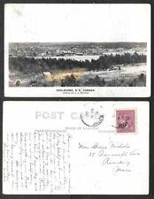1948 Canada Real Photo Postcard - Shelburne, Nova Scotia - General View