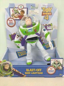 Brand New Toy Story 4 Blast-Off Buzz Lightyear Figure 17cm Disney Pixar