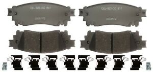 Disc Brake Pad Set-Ceramic Disc Brake Pad Rear ACDelco Pro Brakes 17D1805CH