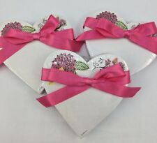 Hallmark Set Of 3 Heart Paper notepads  150 sheets per pad Valentines