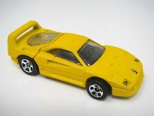 Yellow Ferrari 1988 Hot Wheels