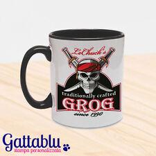 Tazza mug colorata LeChuck's Grog, Monkey Island inspired, Guybrush Threepwood