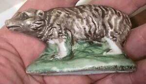 18th Century Staffordshire Bear Figurine