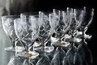 10 verres en cristal taille de VILLEROY ET BOCH crystal glasses