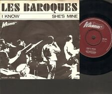 """Les BAROQUES I Know SINGLE 7"""" She's Mine 1966 NEDERPOP"""