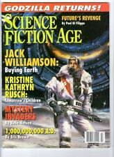 WoW! Science Fiction Age July 1998 Godzilla Returns! Gallery! Books! Games!