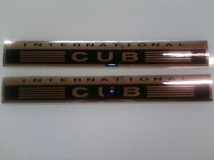 International Cub Decals