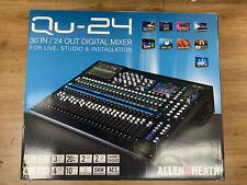 Allen & Heath QU-24 Digital Mixer Chrome Edition