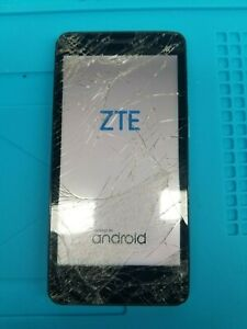 ZTE Avid Plus Z828 (Black & Blue) Tmobile for parts or repair