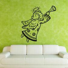 Wall Decal Sticker Angel Flight Wings Story Reed Dream Night Bedroom M569