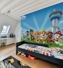 252x182cm wallpaper mural form children's bedroom photo wall Paw Patrol