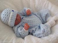 BABY KNITTING PATTERNS DK 13 BOYS OR REBORN DOLLS BY PRECIOUS NEWBORN KNITS