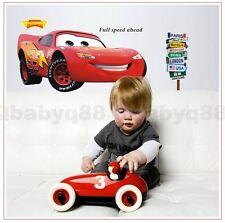 Giant Disney Pixar car McQueen Removable wall sticker decals kids nursery Art