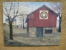 Wedding Ring Quilt Canvas Barn Farm House Painting Wall small Spring