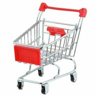 Coles Little Shop Mini Shopping Trolley ❤ Use With Coles Little Shop Minis ❤ OZZ