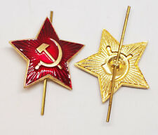 Soviet Military Russian Army Red Star Hat Pin Badge