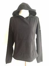 The North Face Pullover Hoodie Fleece Black w/Kangaroo Pocket Size S