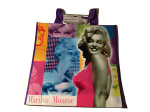 Marilyn Monroe Pictures Lightweight Reusable Shopping Tote Bag Wall Art