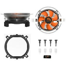 for Intel LGA775 1155 AMD AM2 AM3 PC CPU Cooler Cooling Fan Heatsink Device