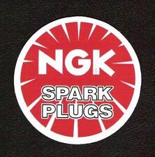 NGK Spark Plugs Sticker vintage inspired, F1 Sports Car Racing Superbike MotoGP