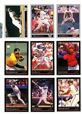 1992 Leaf Baseball Key Cards, Silver,Gold Rookies,Black Gold, Your Choice, NM/M