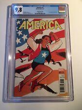 America 1 / CGC 9.8 Chiang Variant / 1st Amer Chavez Solo Series / Marvel Comics