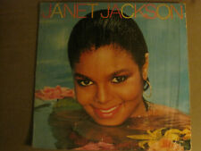 Janet Jackson S/T Lp Orig '82 A&M Sp-6-4907 Synth Pop Funk Soul R&B In Shrink!