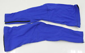 Verge XL Women's Fleece Cycling Leg Warmers Royal Blue CLOSEOUT
