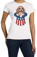 Patriotic - 4th of July Shirt, Puppy, American Flag, Stars & Stripes Shirt