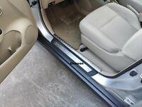For Mazda CX5 CX-5 Car Accessories Door Sill Cover Scuff Plate Protector Sticker