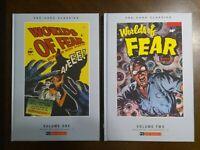Worlds of Fear Vol 1 & 2 Pre-code Classics New HC PS Artbooks