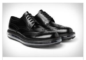 Men's PRADA Levitate Leather Brogues Wingtip Lace-ups US 7 1/2-8 (6 1/2 Prada)