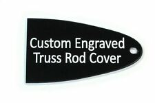 Custom engraved Truss Rod Cover for Schecter Guitars