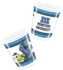 Monsters University 200ml Plastic Cups 8pk - Disney Birthday Party Tableware
