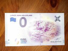 NULL EURO SCHEIN - 0 € SOUVENIR - Lange Anna Helgoland - 2019-1