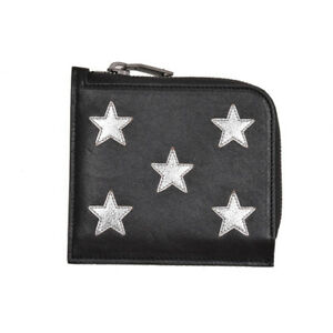 S-2353119 New Saint Laurent Star Leather Zip Around Folding Wallet Case