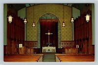 Morgantown WV, Wesley Methodist Church, Chrome West Virginia Postcard