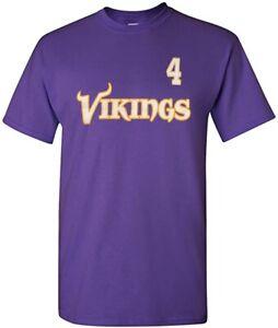Minnesota Vikings Brett Favre Youth Name & Number T-Shirt